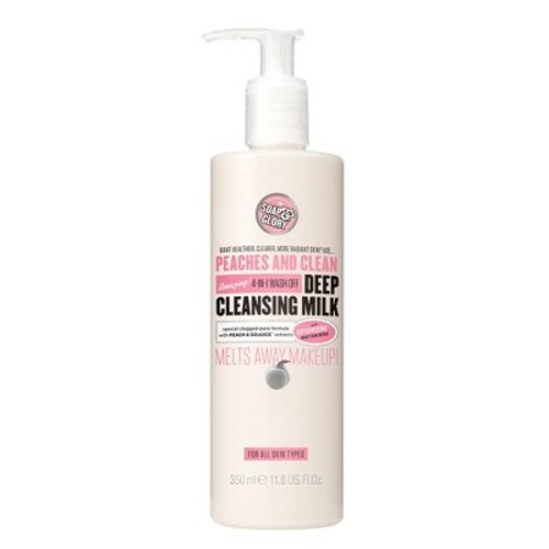 Soap & Glory Peaches & Clean Deep Cleansing Milk - 11.8oz