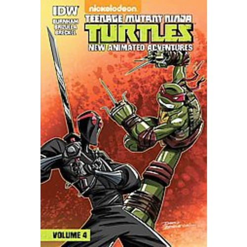 Teenage Mutant Ninja Turtles: New Animated Adventures: Volume 4 : New Animated Adventures (Library)