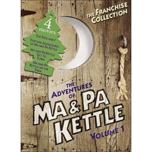 Adventures of ma and pa kettle:Vol 1 (DVD)