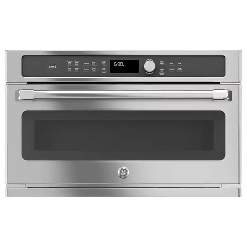 GE CAFE SERIES BUILT-IN MICROWAVE/CONVECTION OVEN