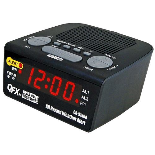 Quantum FX 97093233M All Hazard Weather Alert Radio