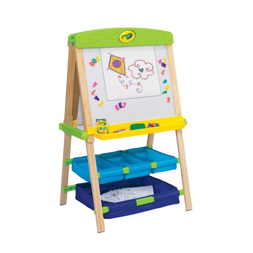 Crayola Draw 'n Store Wood Easel