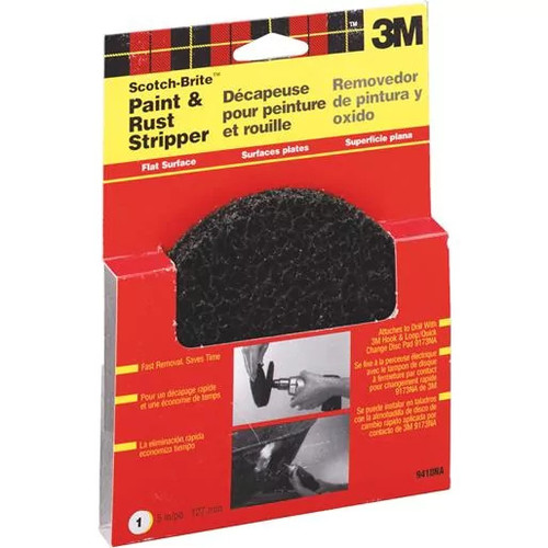 3M Paint&Rust Stripping Pad 9410NA Unit: EACH