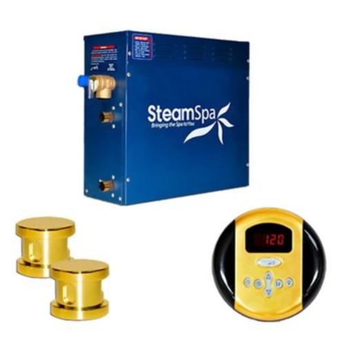 Steam Spa SteamSpa Oasis 12 KW QuickStart Steam Bath Generator Package; G