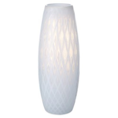 Mikasa Artisan Series White Whisper Diamond Vase
