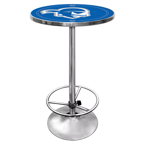 Trademark Seton Hall University Chrome Pub/Bar Table