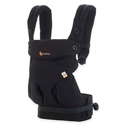 Ergobaby Four-Position 360 Baby Carrier in Pure Black