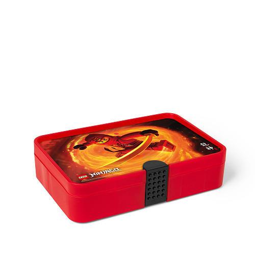 LEGO Ninjago Transparent Sorting Box - Red