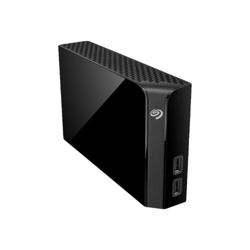 Seagate Backup Plus Hub STEL8000100 - Hard drive - 8 TB - external (desktop) - USB 3.0 - black (STEL8000100)