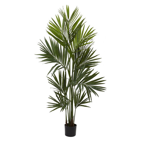 Nearly Natural Kentia Silk Palm Tree