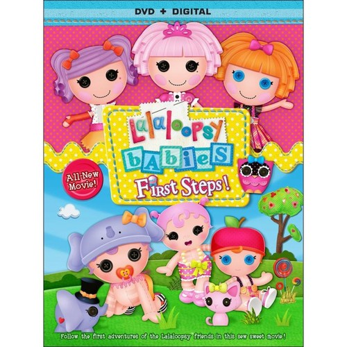 Lalaloopsy Babies: First Steps [DVD] [2014]