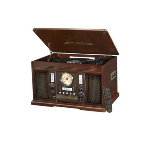 Innovative Technology - Victrola 7-In-1 Nostalgic Bluetooth Record Player