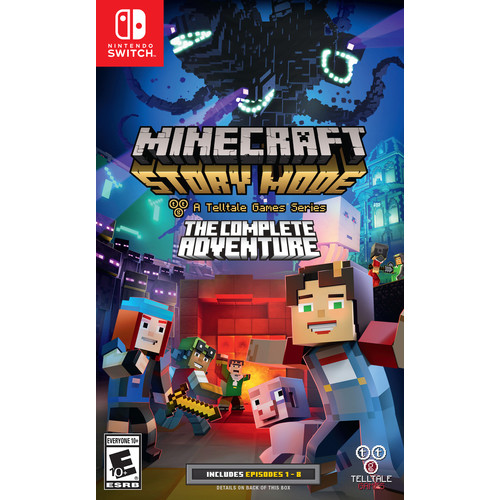 Minecraft: Story Mode A Telltale Game Series The Complete Adventure for Nintendo Switch
