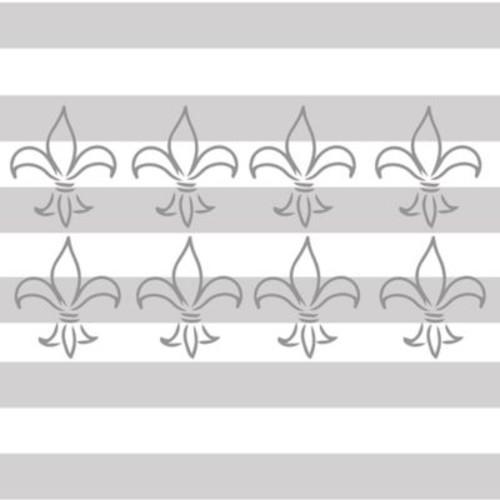 Glenna Jean Heaven Sent Fleur de Lis Wall Decals (Set of 8)