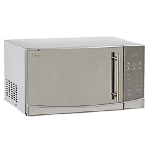 Avanti 1.1 Cu. Ft. One-Touch Microwave, Stainless Steel Finish