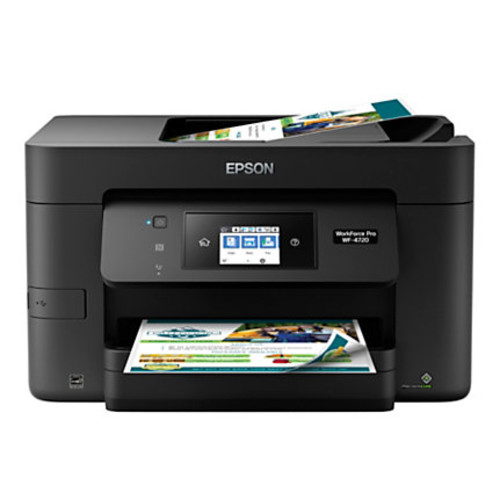 Epson WorkForce Pro WF-4720 Wireless All-In-One Printer, Copier, Scanner, Fax