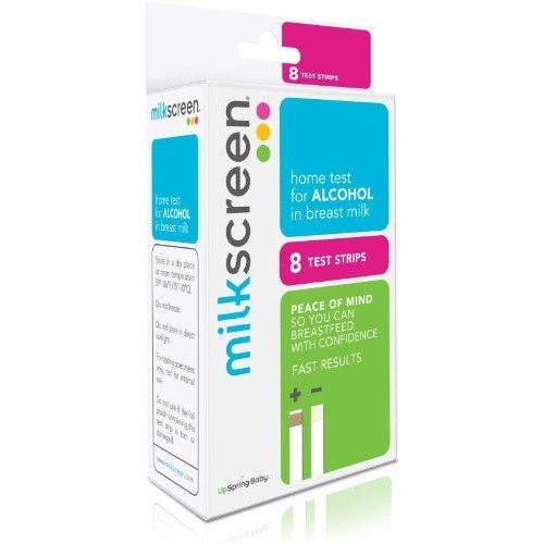 Milkscreen: Home Test to Detect Alcohol in Breast Milk 4 Pack (Discontinued by Manufacturer)