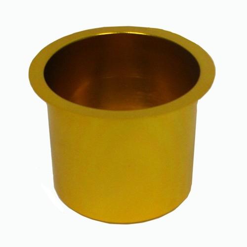 Trademark Global Jumbo Aluminum GOLD Poker Table Cup Holder