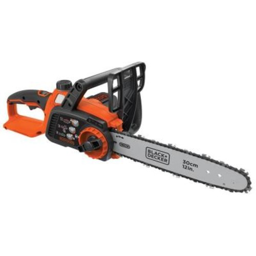 BLACK+DECKER 12 in. 40-Volt MAX Lithium-Ion Cordless Chainsaw - Battery and Charger Not Included