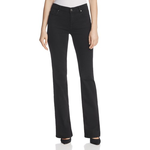 7 FOR ALL MANKIND Bootcut Jean In Black
