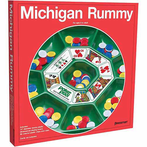 Michigan Rummy [Multicolor, None]