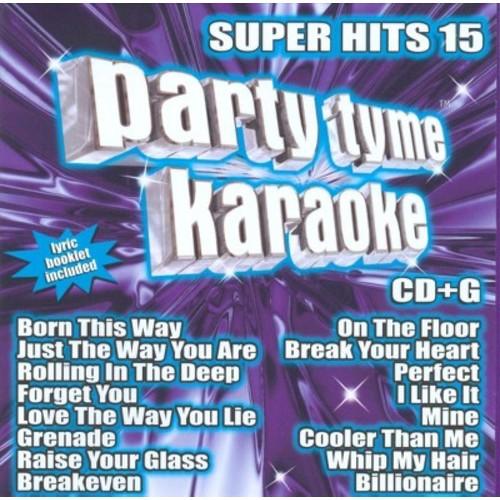 Karaoke - Party Tyme Karaoke: Super Hits, Vol. 15 (CD)