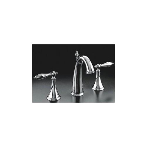 Classic Brass Bathroom Sink Faucet (Widespread)