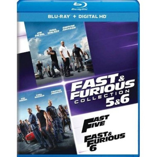 Fast And Furious Collection: 5 And 6 [Blu-Ray] [Digital HD]