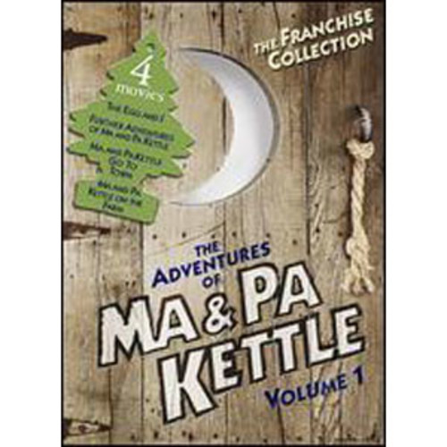 The Adventures of Ma & Pa Kettle, Vol. 1 [2 Discs]