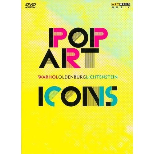 Pop Art Icons: Warhol/Oldenburg/Lichtenstein [3 Discs] [DVD]