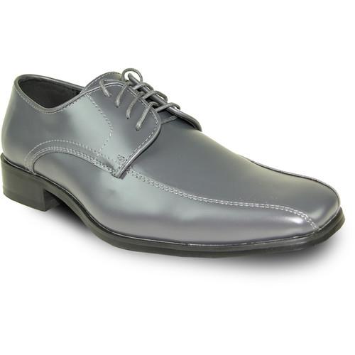 VANGELO Men's Tux-5 Oxford - Iron Gray Wide Width Avail [Width : D (M)]