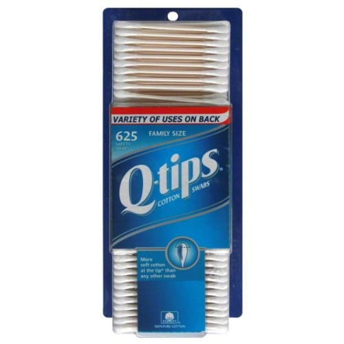 Q Tips Cotton Swab Size 625ct Q Tips Cotton Swab 625ct [Pack of 6]