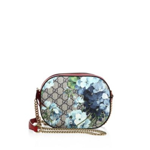 GUCCI Bloom Chain Canvas Crossbody