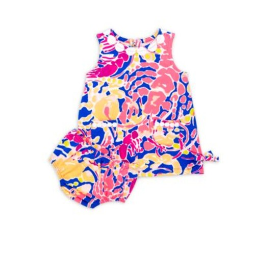 Baby Lilly Baby's Two-Piece Printed Dress and Bloomers Set