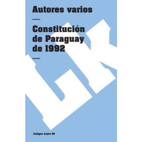 Constitucion de Paraguay de 1992