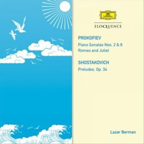 Prokofiev: Piano Sonatas Nos. 2 & 8; Romeo and Juliet; Shostakovich: Preludes [CD]