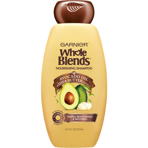 Garnier Whole Blends Nourishing Shampoo with Avocado Oil & Shea Butter Extracts 12.5 FL OZ