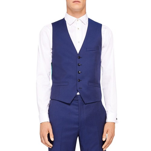 Raisew Debonair Plain Waistcoat