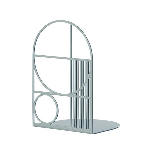 Outline Bookend in Dusty Blue design by Ferm Living