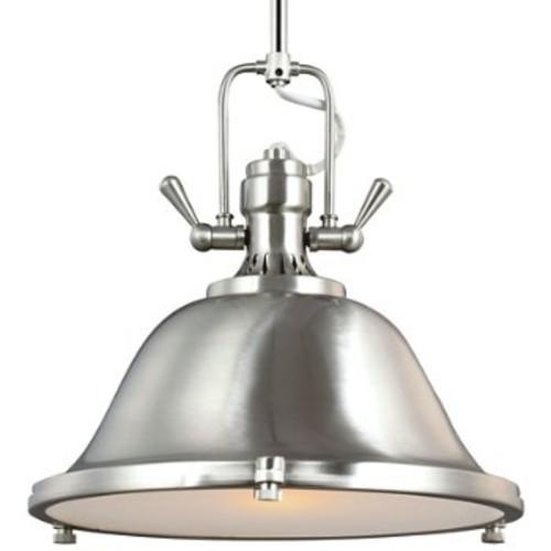 Stone Street Pendant [Light Option : Incandescent; Finish : Brushed Nickel]