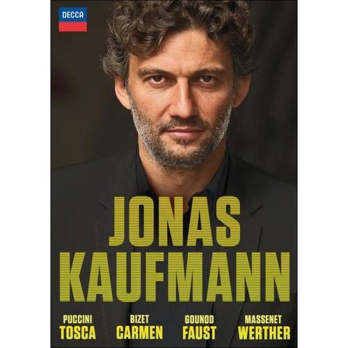 Jonas Kaufmann: Tosca, Carmen, Faust, Werther [Video] [DVD]