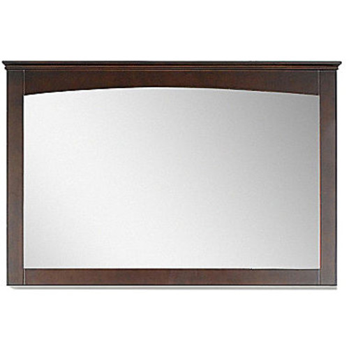 American Imaginations 48 in W X 315 in H Modern Plywood Veneer Wood Mirror In Walnut JCPenney