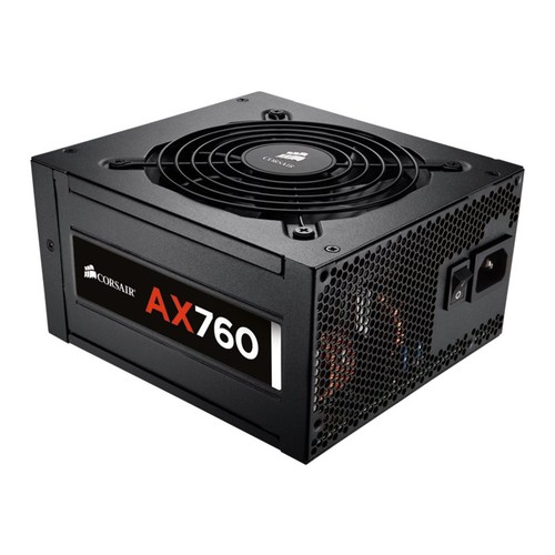 CORSAIR - AX760 760-Watt ATX Power Supply - Black