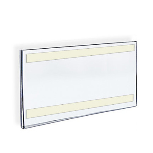 Azar Displays Acrylic Sign Holders With Adhesive Tape, 8 1/2