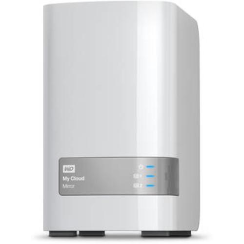 WD My Cloud Mirror 16TB (2x8TB) External Hard Drive WDBWVZ0160JWT-NESN