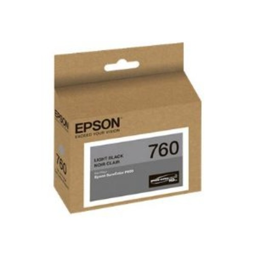 Epson 760 - Light black - original - ink cartridge - for SureColor SC-P600 (T760720)