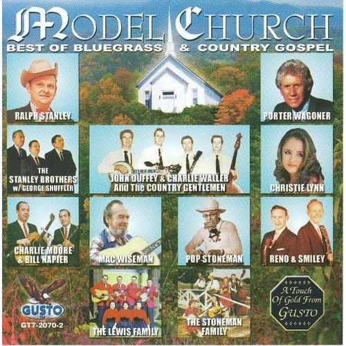 Model Church Best Of Bluegrass & Country Gospel [CD]