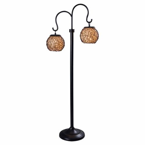 Kenroy Home 32246BRZ Castillo Outdoor Floor Lamp, Bronze Finish [Bronze]