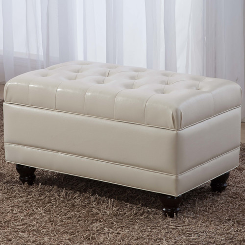 Castillian Upholstered Storage Bench