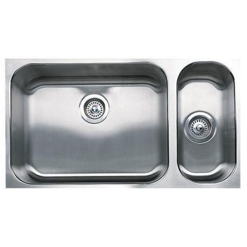 Blanco Spex Plus Undermount Stainless Steel 32 in. 1-1/2 Double-Bowl Kitchen Sink